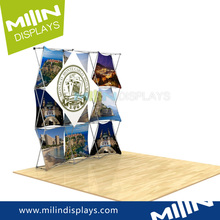 Customize pop up aluminum exhibition stand 3d models