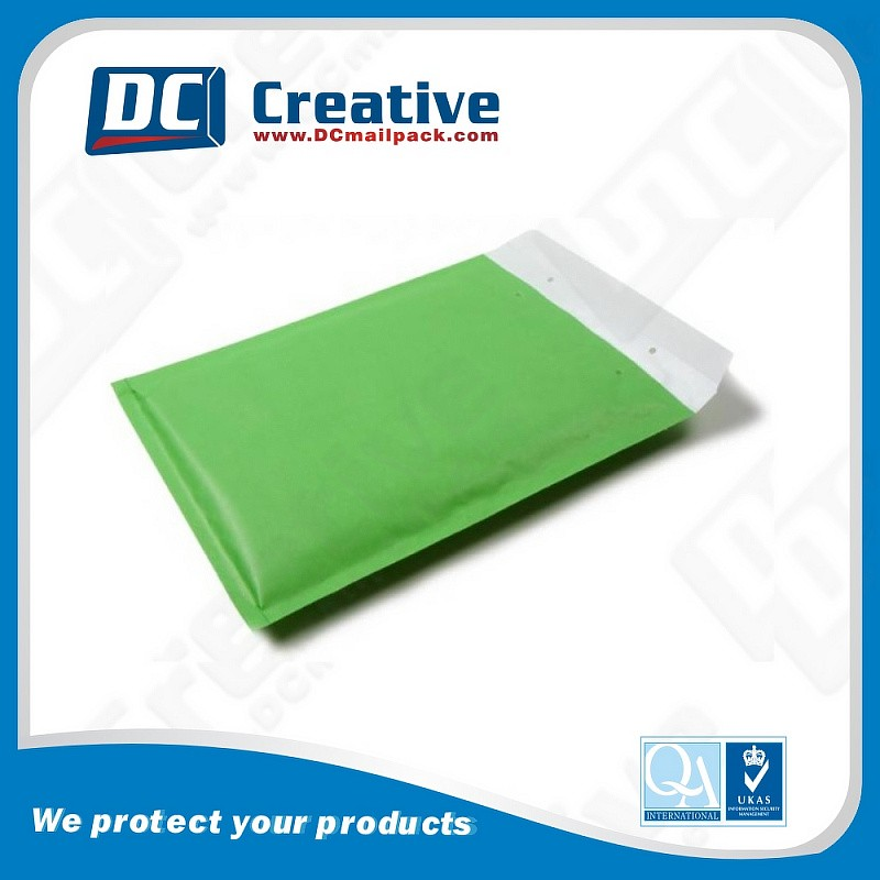 Hot Sealing And Cutting Easily Transported Kraft Bubble Envelope