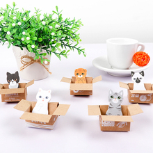 Korea Cute Cartoon Fancy Animal House Custom Memo Pad Sticky Note With Box