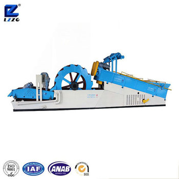 LZZG sand washing machine price, screw and wheel sand wsher