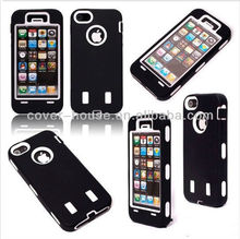 NEW Design Silicone PC case robot case for iphone 5 5g