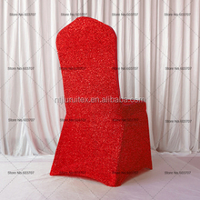 100 pcs Free Shipping Glitter Spandex Chair Cover Gold/Sliver/Blue/Pink For Wedding Banquet Hotel Decor