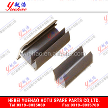Colored OEM NBR EPDM Silicone Extruded Sealings/rubber extruded profile for car door window YH-QC003