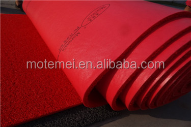 High Quality PVC Rubber Floor Mat Dries Fast roll carpet