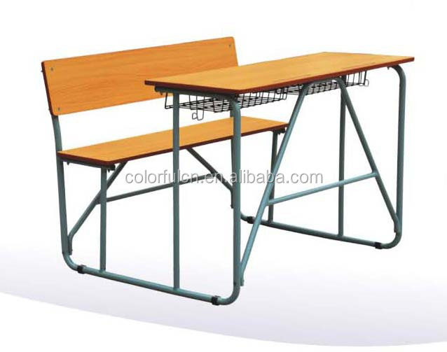 Cheep desk & chair school furniture Sketching chair S-07