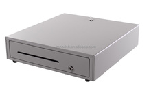 POS cash drawer box with 3 level solid lock ZQ-415D from ZONERICH