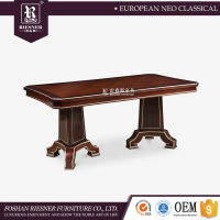 Neo-classic Dining room furniture dinner table set furniture , solid wood dining table with high quality