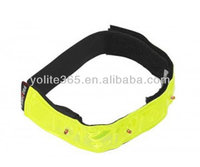 LED armlet,reflective LED wristband,safety LED armband
