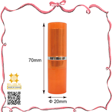 Addictive products orange odem lipstick tube mac