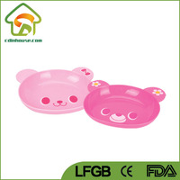 Food Grade Children Kids Plastic Dish Tray
