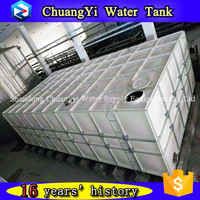 Factory direct supply square grp smc frp panel water storage tank made in China