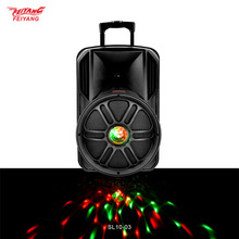 Wholesale products temeisheng 12 inch woofer +tweeter 45W portable line array subwoofer active speaker home theatre