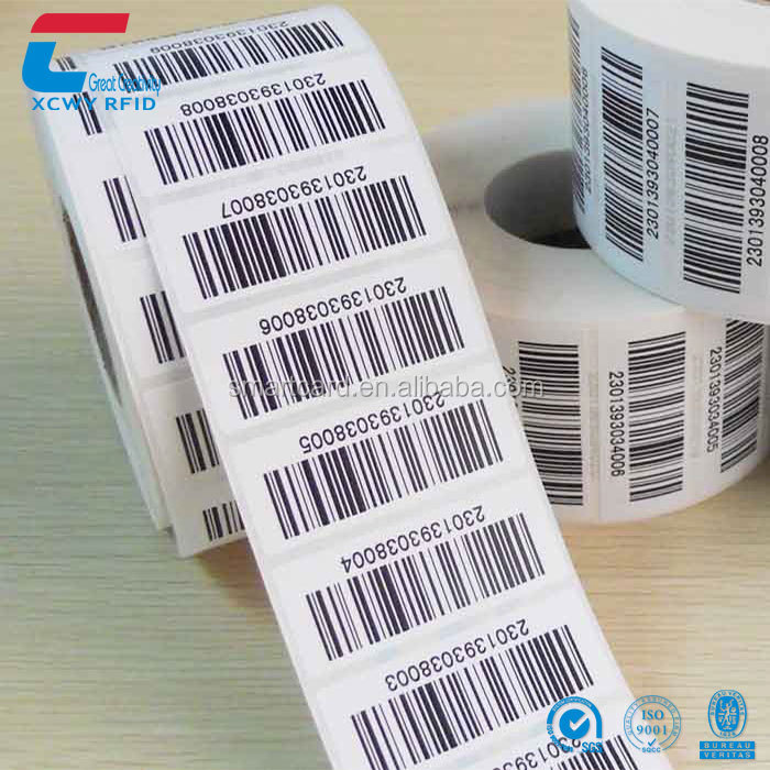 Alibaba Wholesale Customized Printing LF 125Khz Passive Rfid T5577 Tags Sticker