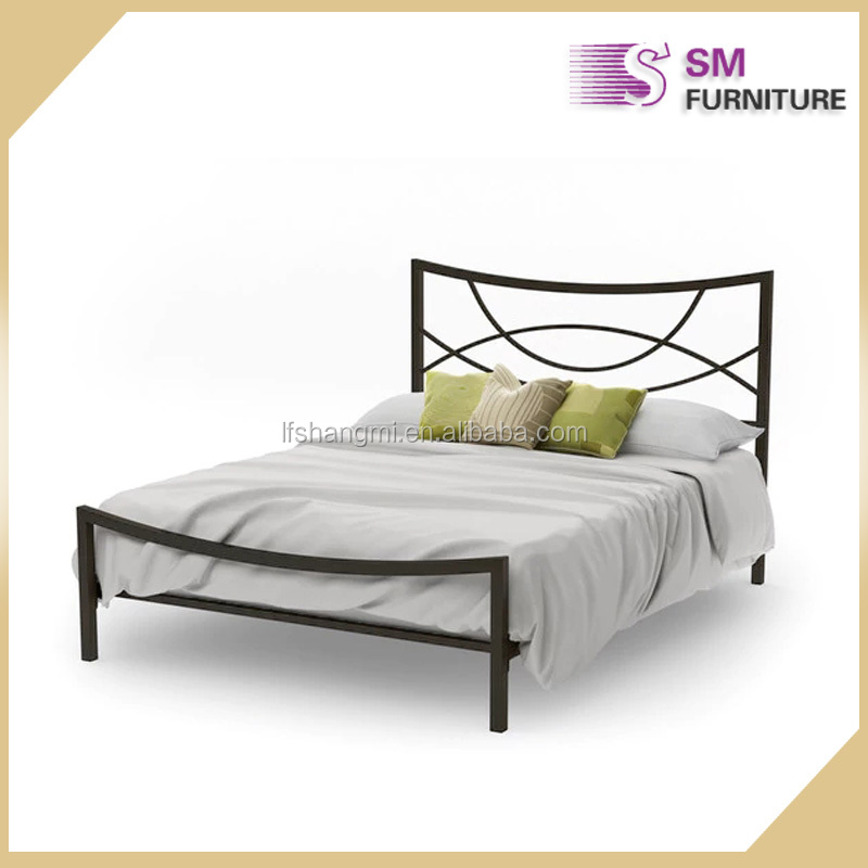 New product industrial all iron metal bed designs for sale