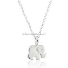 Animal jewelry 925 sterling silver small elephant pendant