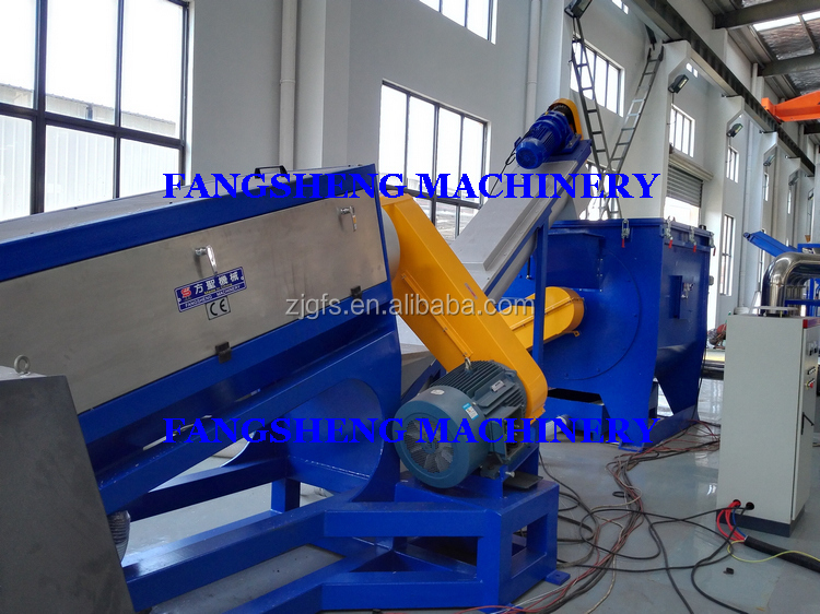 Fangsheng pp pe film washing machine/waste plastic recycle system