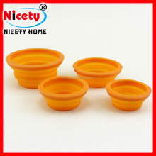 novelty silicone collasible pet bowl/feeder