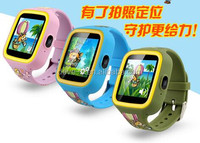 Watch Kids, GPS Tracker LBS/GPRS/SMS camera Watch Tracking Locator GPS Watch With Phone for kids children