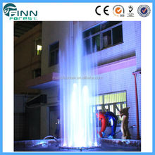 Factory supply stainless steel lobby fountain/small outdoor fountain