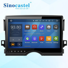 10.1 Inch Multi-Touch Capacitive Screen Car Navigation Radio CD DVD Player HDMI For Toyota Reiz 2014