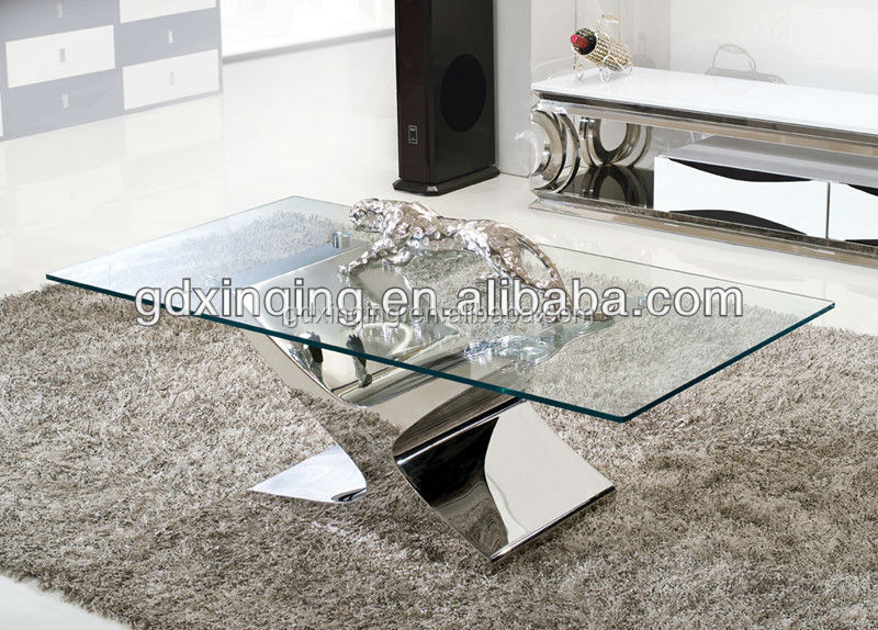 Fashionable Long Lifetime Easy Installation Glass Coffee Table C316