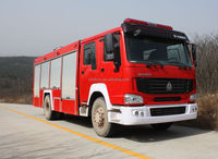 HOWO 4*2 290HP antique fire trucks for sale in European