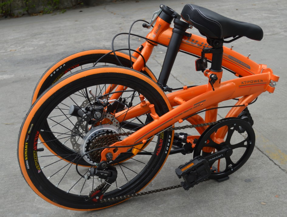 20 inch foldable <strong>bicycle</strong> 7 speed high steel frame disc brake <strong>bicycle</strong>