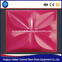 Top level Cheapest wall decorative color-coat plates with 3d