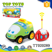 new baby musical toy rc electric car taxi