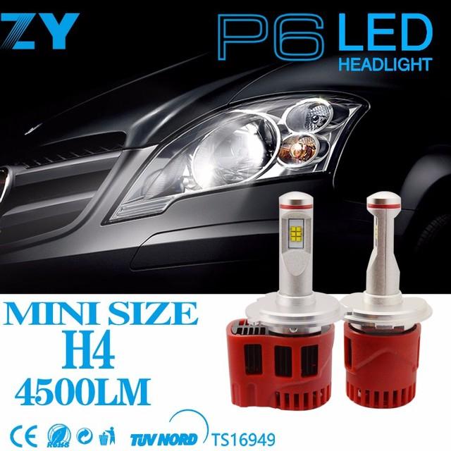High/ low beam High quality 90W 9000lm h4 car led headlight automotive light