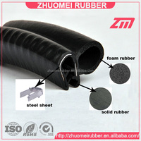 Rubber Push in Auto Door Weather Seal