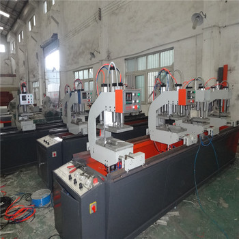 uPVC windows machine /Fou-corner Vertical Welding Machine for Plastic Door & Window PVC window machine two head welding mach