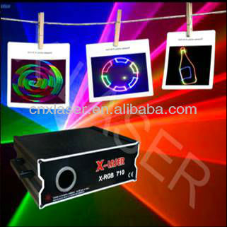 Mutil-Functional 1W RGB laser show system/laser light with 2D+3D Change,SD card+ILDA interface holiday lighting