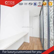 Hot Sale Double Glass Aluminium Soundproof Used French Exterior Door For Sale