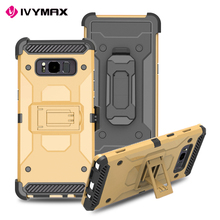 Factory oem double color 3 in 1 pc tpu case for samsung galaxy note 8