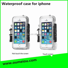 waterproofmobile phone case making machine for iphone 5s for surfing , cycling skiing