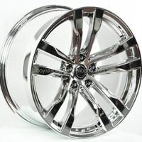 Chrome Car Rims Durable Modern Car Alloy Wheels
