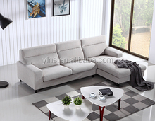 Small Size Fabric Living Room L Shaped Sofa
