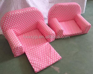 "Mini baby 18"""" doll toy low chair & doll sofa"