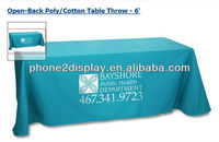 Thickness fabric cloths for banner stands or trade show, printed by your design template