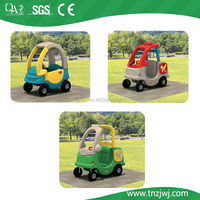 plastic car different types of ride for children