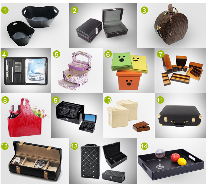 Hot Selling!!! Top quality customized leather storage basket for sundries