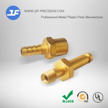 Custom Brass plumbing parts of plumbing material stainless steel 304 t-joint fitting, Welded Connection of brass swivel joints