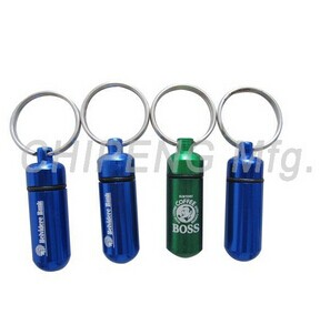 Small Water-tight Capsule keychain 45mm, 82032