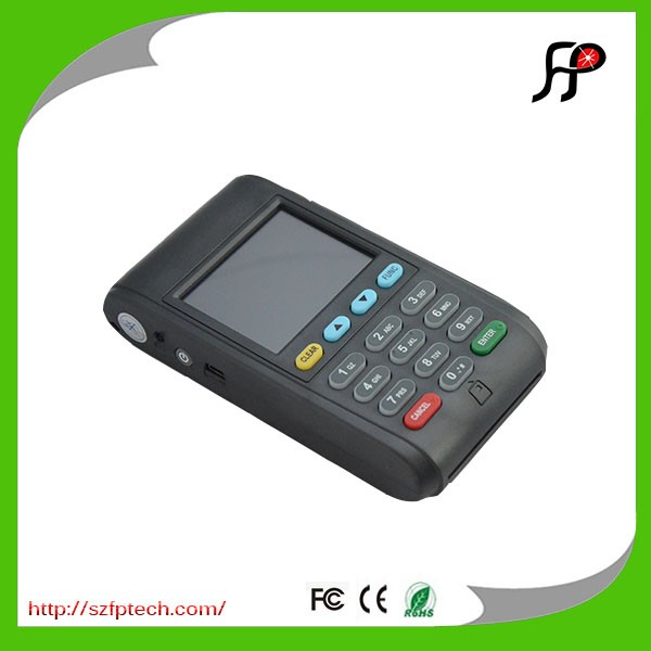 Handheld touch screen mobile payment pos systerm