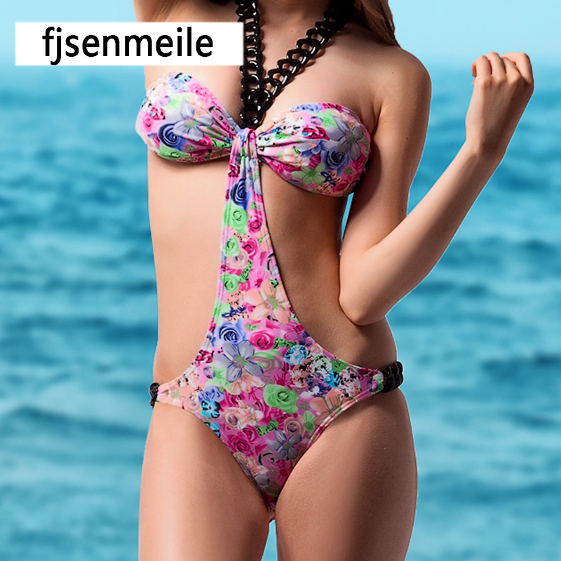 New Design Bikini Charming Sexy Woman Swimwear 2017 Summer Wholesale One Piece Swimsuit