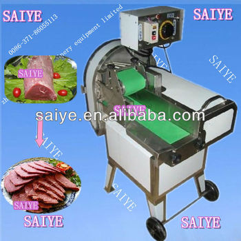 cooked beef cutting machine