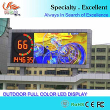 2016 new outdoor DIP P12 led display for wall or top advertising