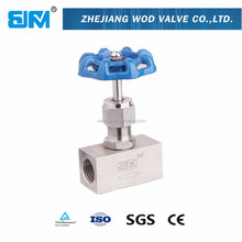high pressure swagelok type 3000psi SS316 needle valve