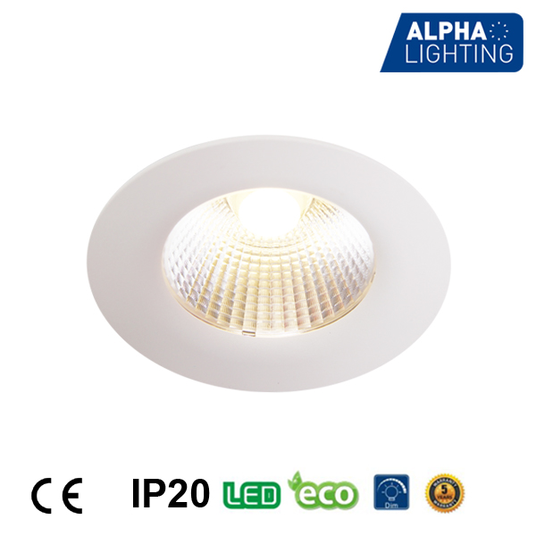 2017 Popular 3 years warranty high brightness CE RoHs 13w COB LED DownLight